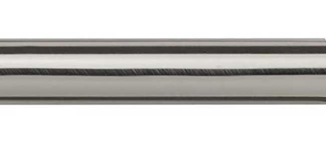 Speedy 28mm Metal Pole Only 200cm Satin Silver